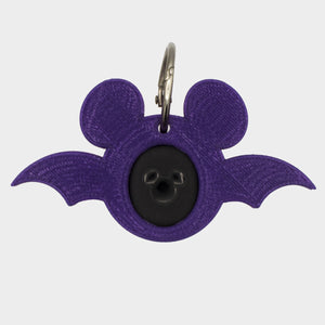 Translucent Purple Halloween Bat Magic Band Buddy