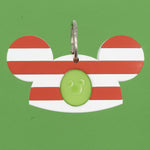 Load image into Gallery viewer, Candy Cane Ears Magic Band Buddy