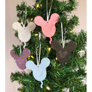 Pastel Tone Icon Balloons Christmas Ornament 5 Piece Set