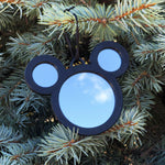 Load image into Gallery viewer, Mirror Mouse Christmas Ornament