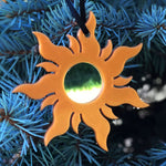 Load image into Gallery viewer, Mirror Lost Princess Sun Christmas Ornament