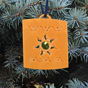 Mirror Lost Princess Lantern Christmas Ornament