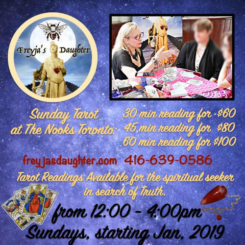 Sunday Tarot at The Nooks