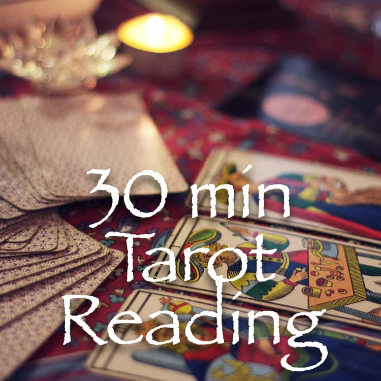 30 Min Two Question Tarot Reading
