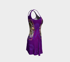 Goddess Tarot Flare Dress