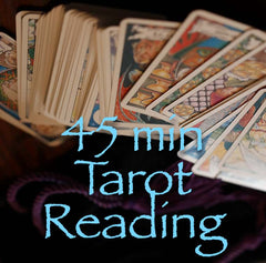 45 Minute Tarot & Oracle Reading