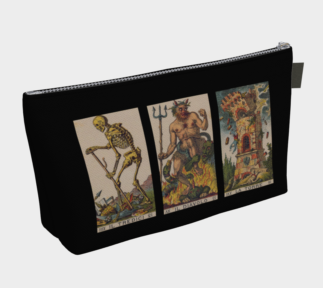 Death Devil Tower Tarot Bag