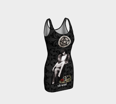 Witch Tarot Bodycon Dress
