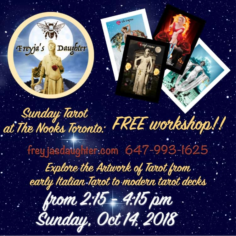 The Art of Tarot Workshop