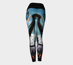 Witch Tarot Yoga Pants