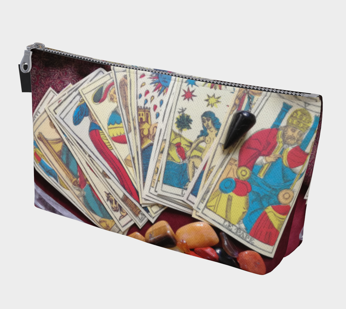 Tarot De Marseille makeup bag
