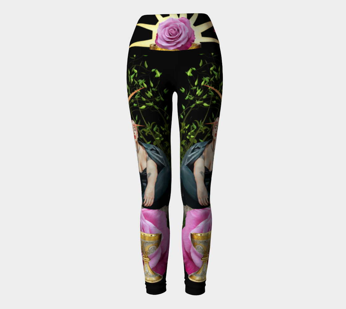 4 of Cups Tarot Yoga Pants
