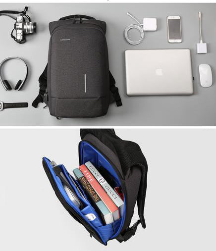 Urban Core Modern Backpack - Black