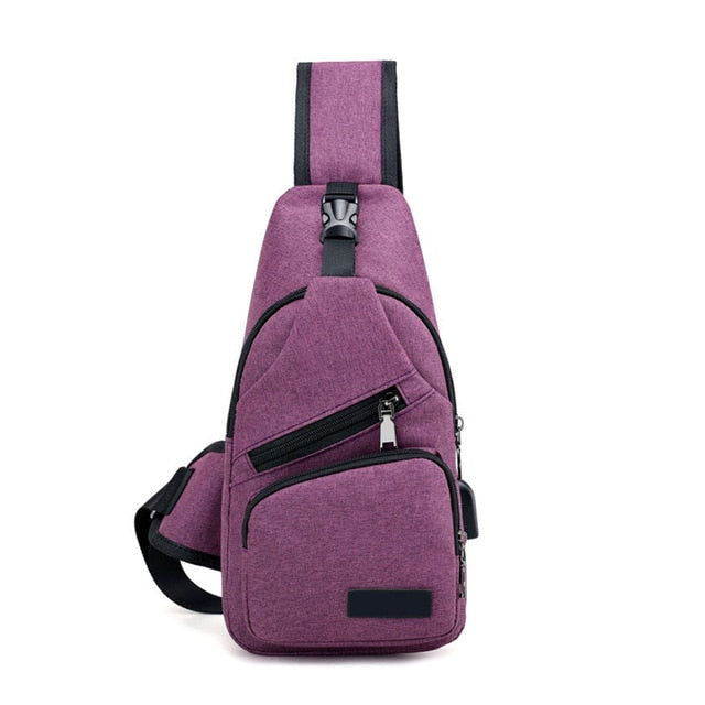 Anti Theft Waterproof Crossbody Bag
