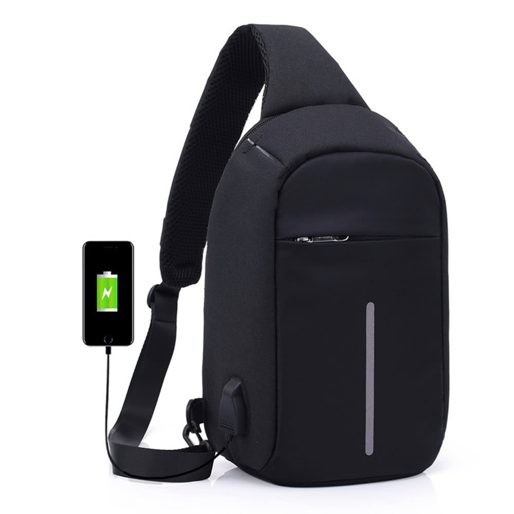 Cross-Body Backpack - USB Port