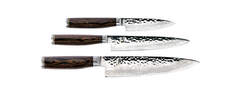 SHUN Premier 3-Piece Knife Starter Set
