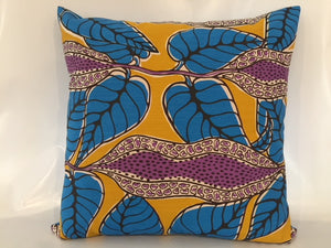 Ooroo Australia cushion collection featuring Yam by artist Gracie Kumbi, Merrepen Arts