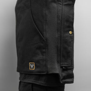 THE LEGENDARY TREADWELL BLACK CANVAS VEST!!!