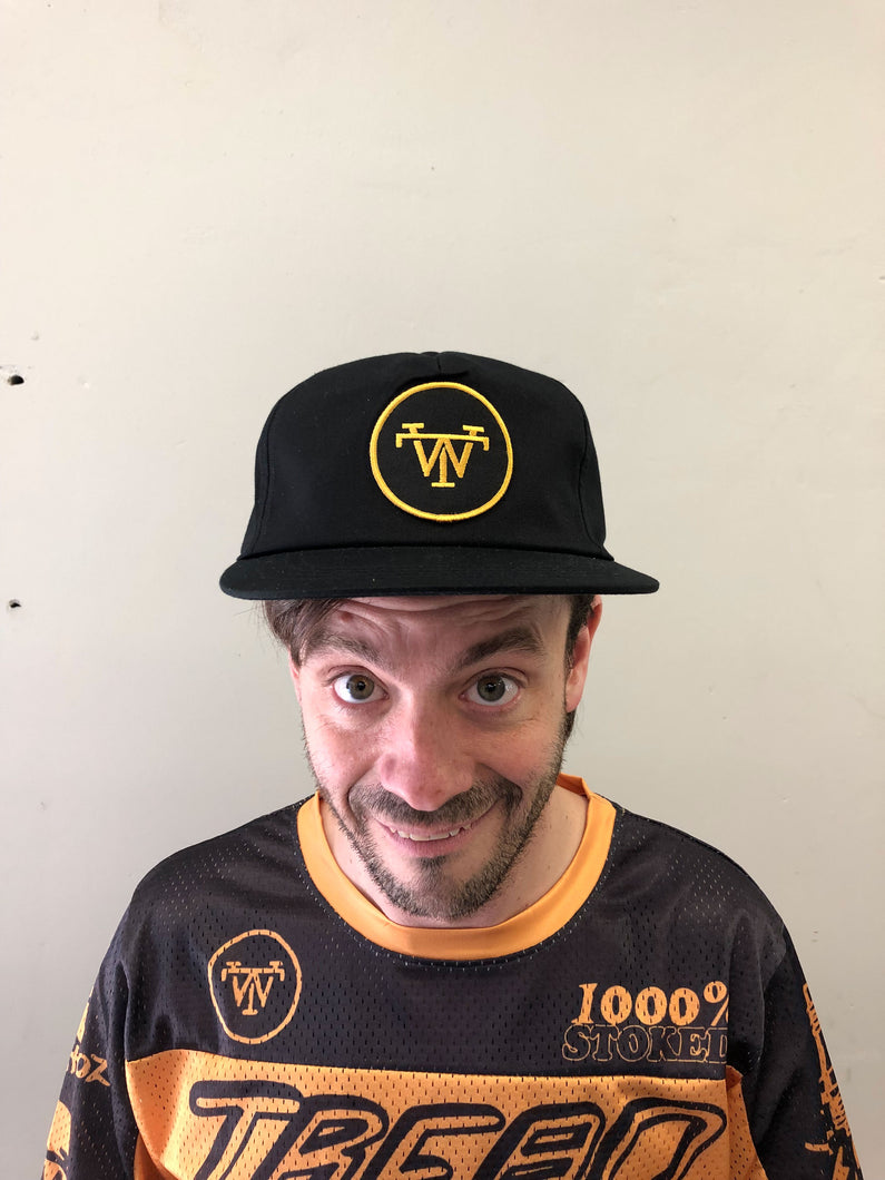 TREADWELL GOLD LOGO HAT