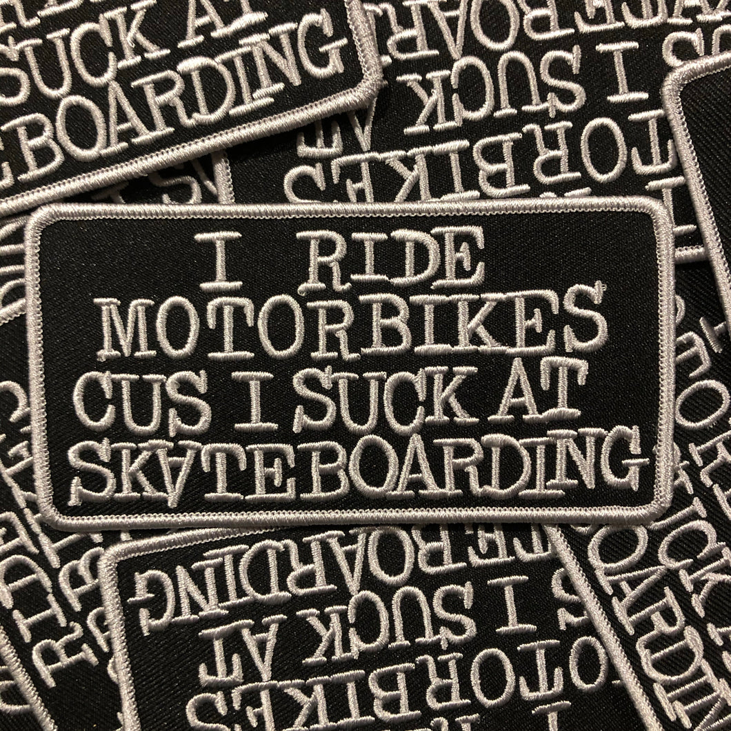*Skate Bike Patch