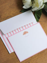 Load image into Gallery viewer, TIL x Wit & Whimsy Croissant Letterhead Stationery