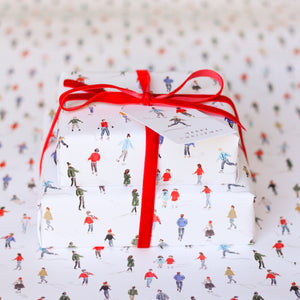 Petite Skaters Wrapping Paper