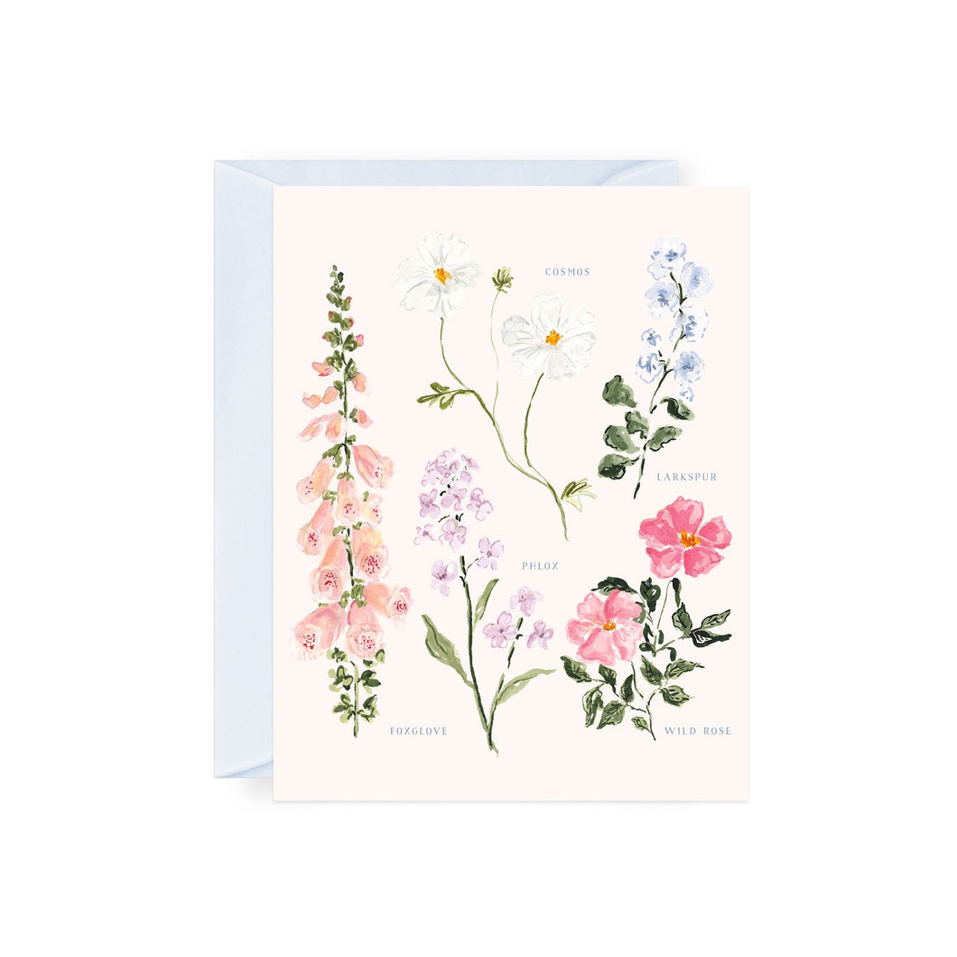 Summer Botanical Notecards