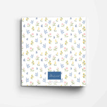 Load image into Gallery viewer, Family Recipes Floral 3-Ring Recipe Binder