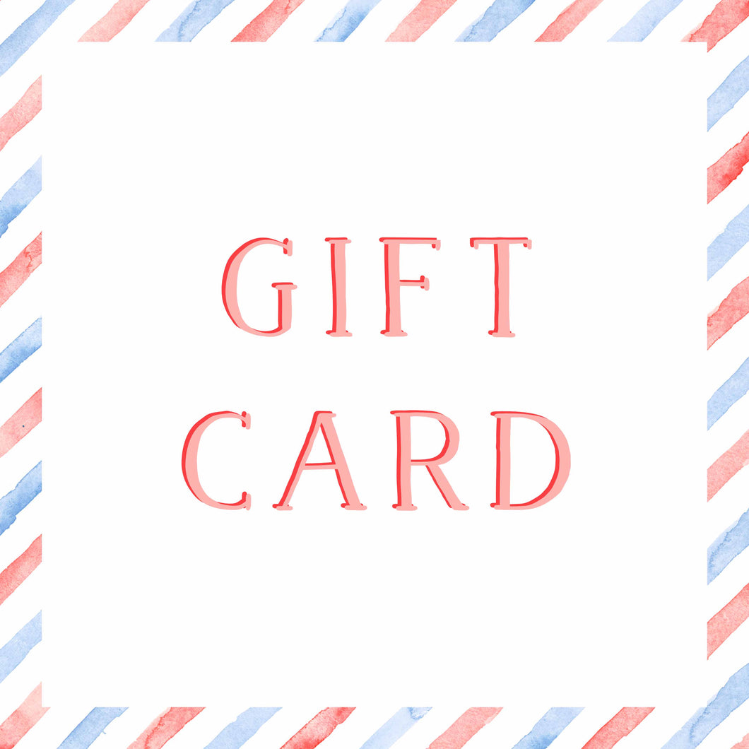 E-Gift Card | The Illustrated Life