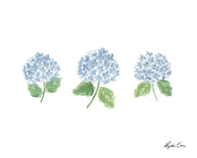 Load image into Gallery viewer, Blue Hydrangeas Art Print