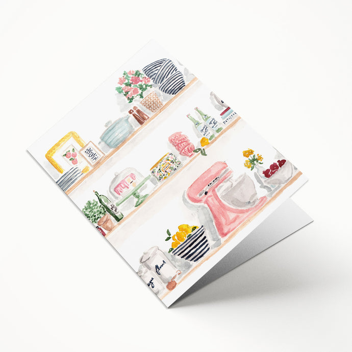 Kitchen Shelves File Folder