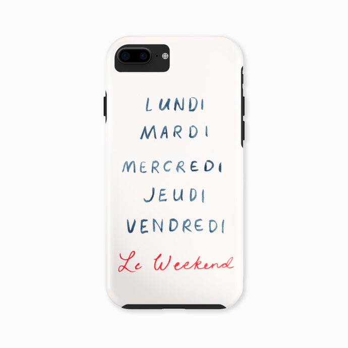 Le Weekend Phone Case