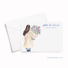 Load image into Gallery viewer, Lilac Personalized Stationery