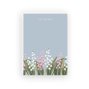 Lily of the Valley Personalized Stationery