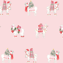 Load image into Gallery viewer, Christmas Llama Gift Wrap