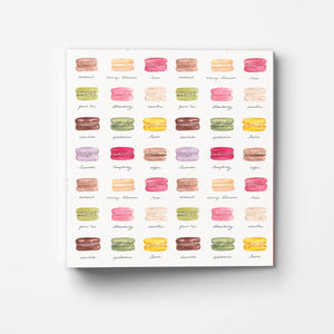 Macarons Recipe Binder