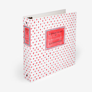 Recipe Binder and Index Tab Dividers