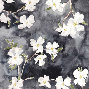 dogwood floral wrapping paper