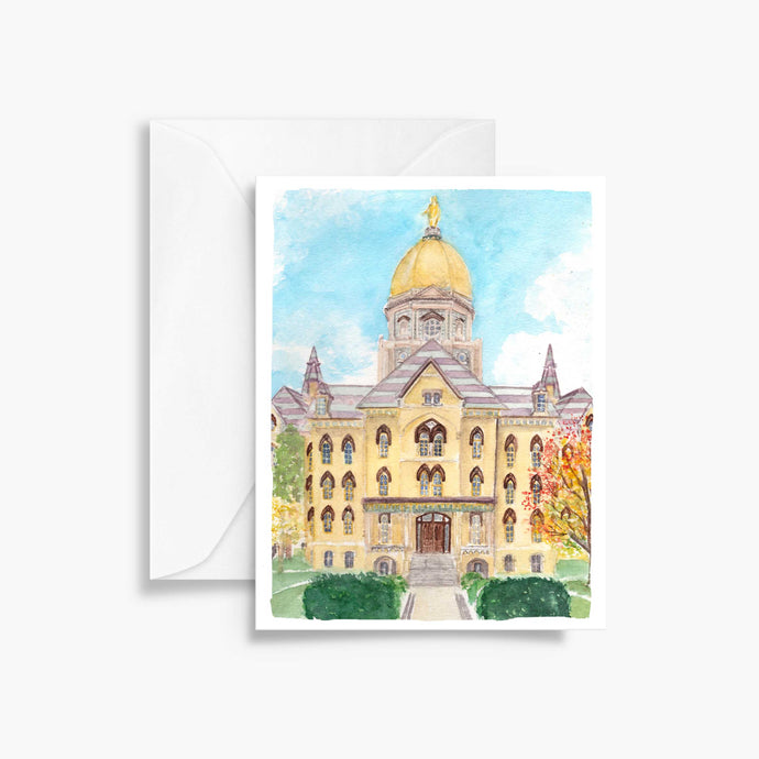 Notre Dame Autumn Notecards