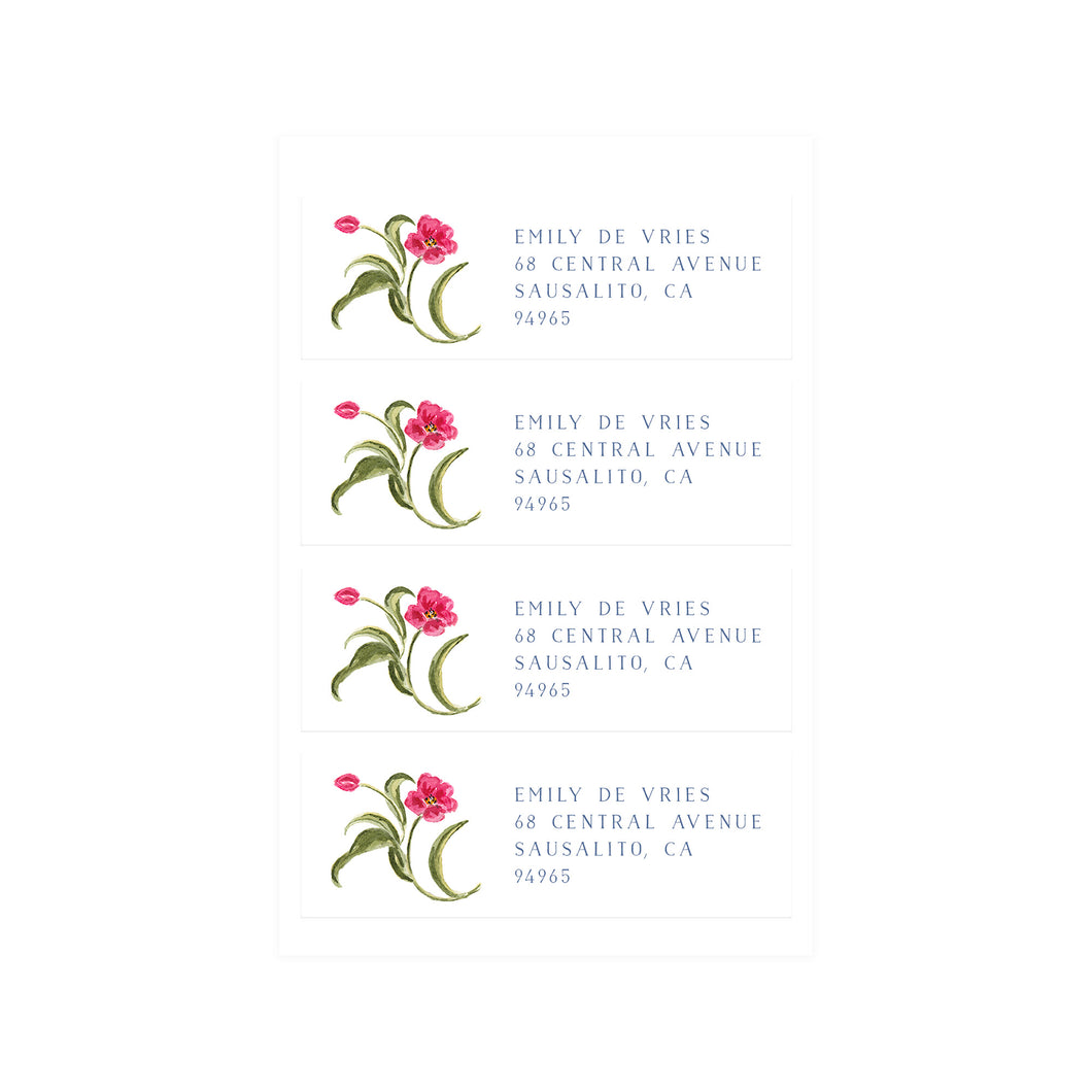 Tulip Address Labels