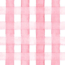 Load image into Gallery viewer, Pink Gingham Gift Wrap