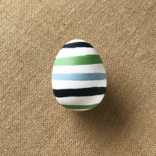 Load image into Gallery viewer, Preppy Stripes Easter Egg