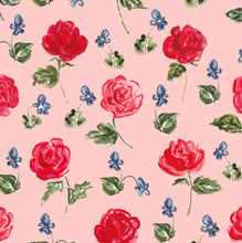 Load image into Gallery viewer, Roses and Violets Gift Wrap