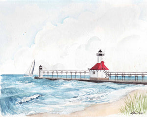 St. Joseph Lighthouse Art Print
