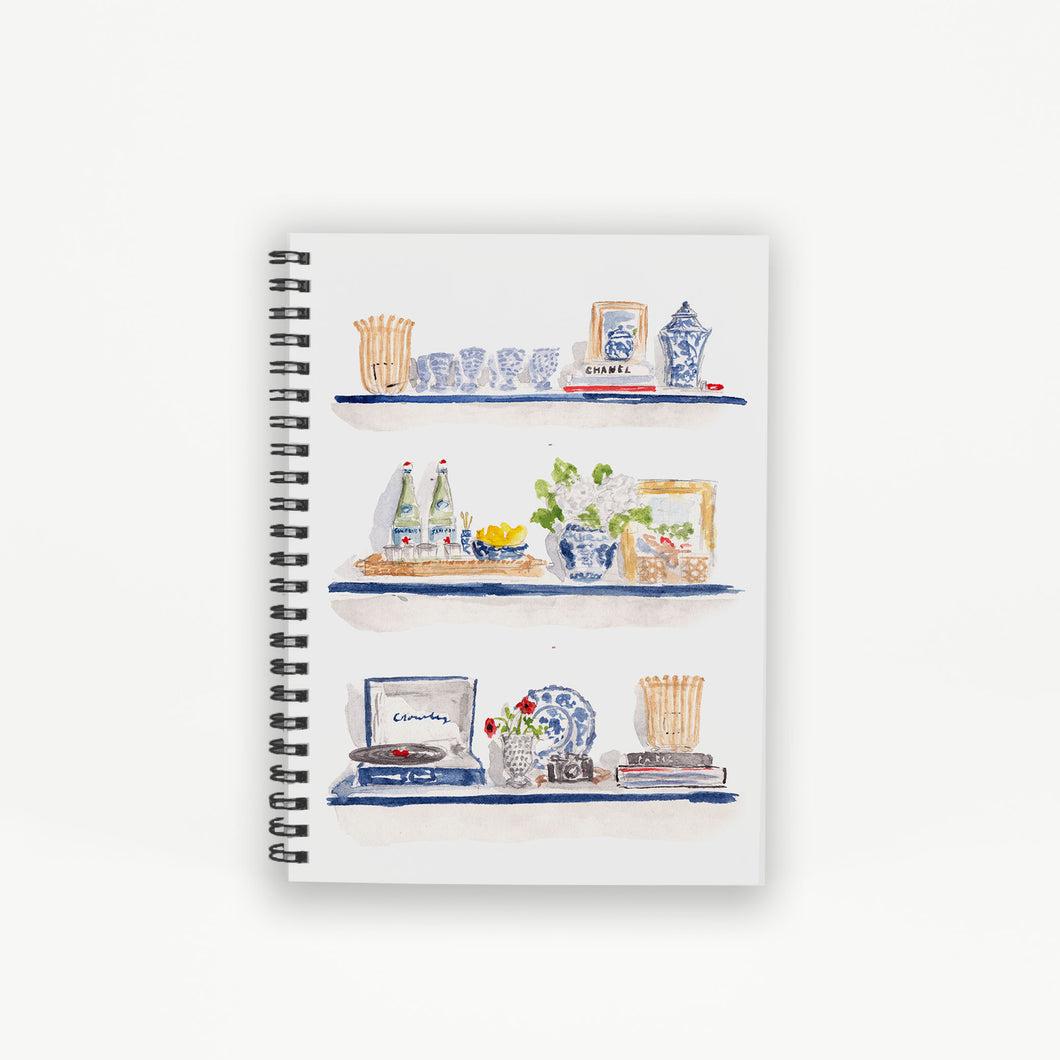 Styled Shelves Hardcover Notebook