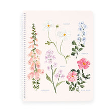 Load image into Gallery viewer, Summer Botanical Spiral Notebook