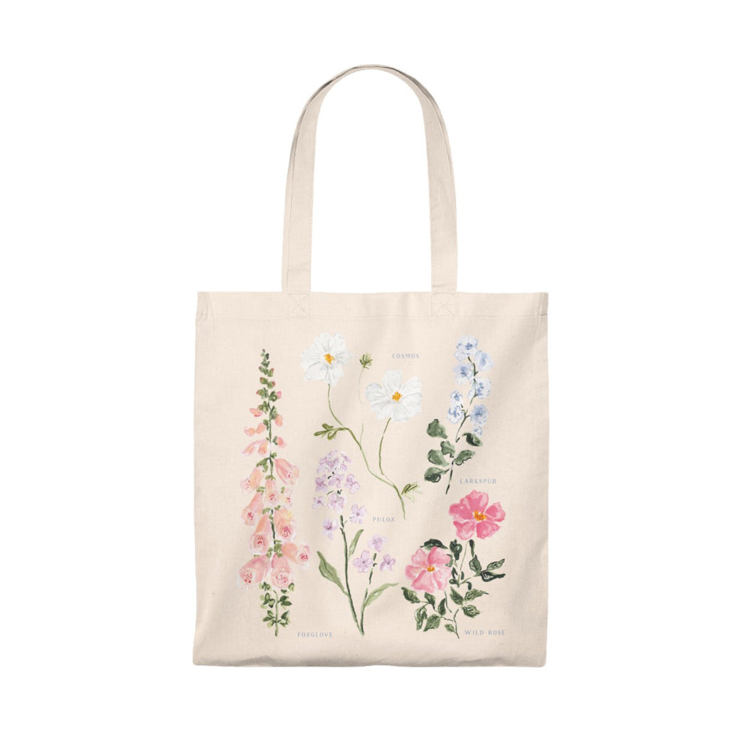 Summer Botanical Tote