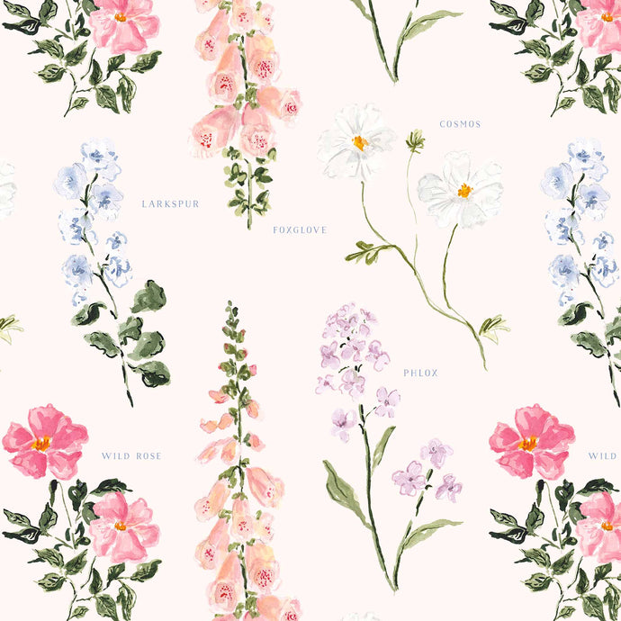 Summer Botanical Gift Wrap