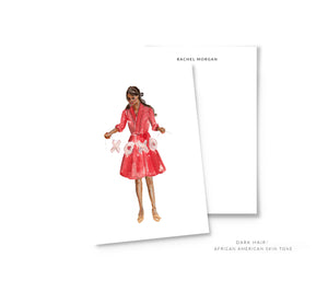 Valentine's Girl Personalized Stationery