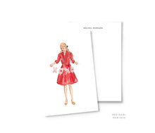 Load image into Gallery viewer, Valentine's Girl Personalized Stationery